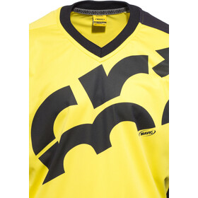 Mavic CrossMax Jersey long Men, yellow mavic/black